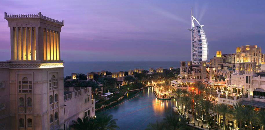 The stunning Jumeirah Madinat complex