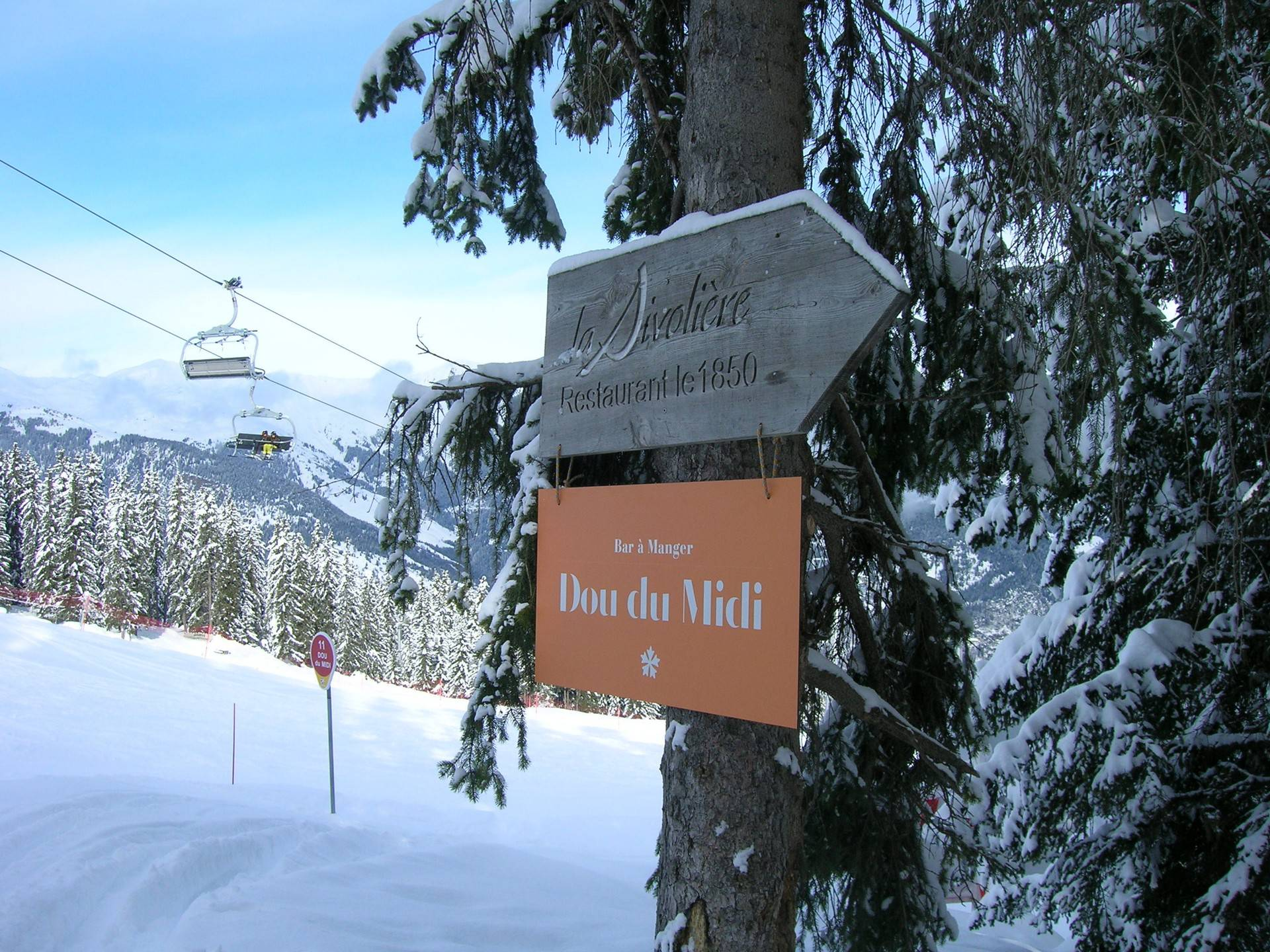 Truly ski-in and ski-out