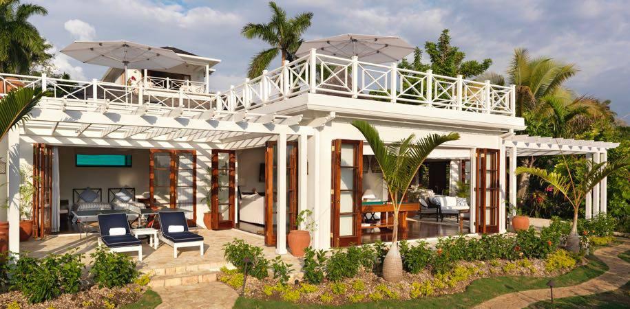 A wide variety of villas