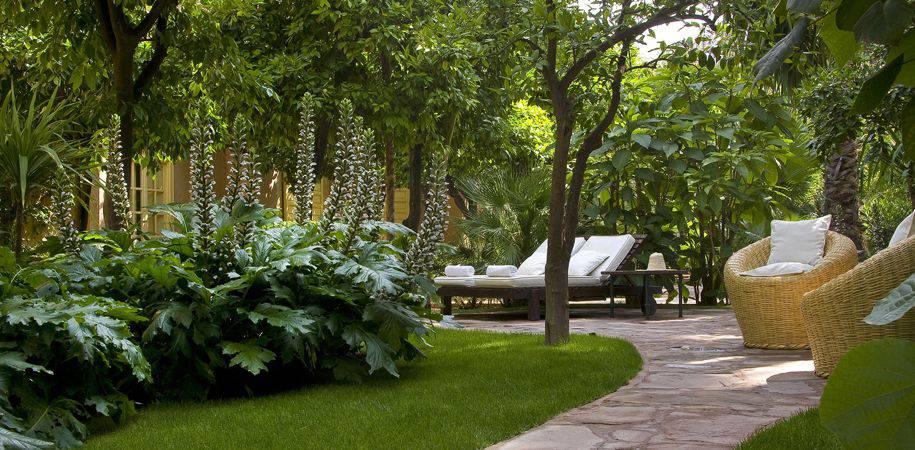 Cool shade sanctuary