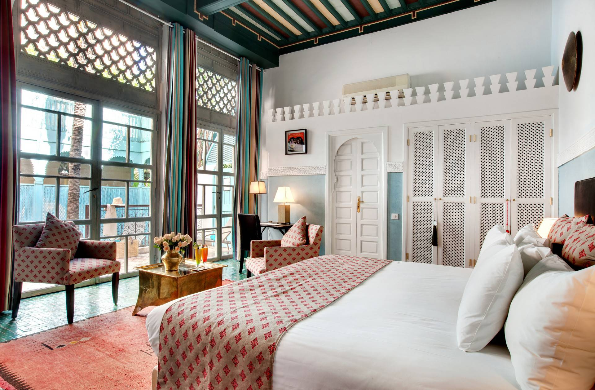 The superb Sultana rooms