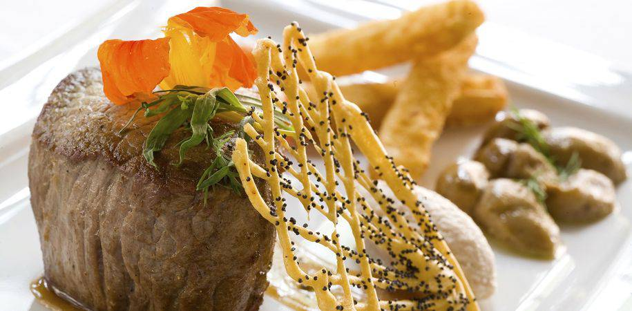 Select international cuisine