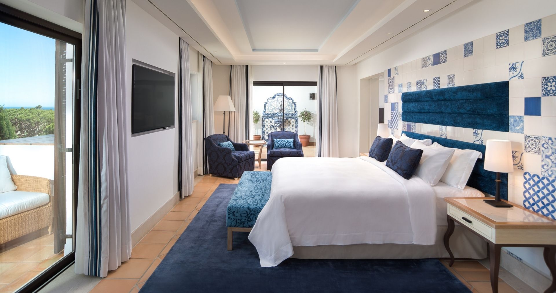 Neptuno suite Bedroom
