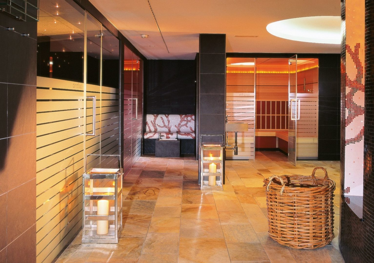 The Senses spa sauna and steam room
