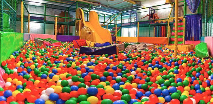 Löwen paradise soft play zone