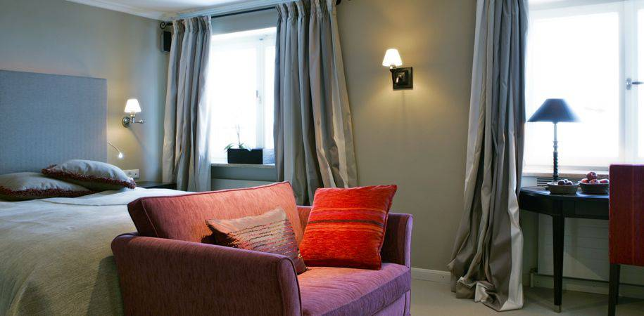 Stylishly designed rooms
