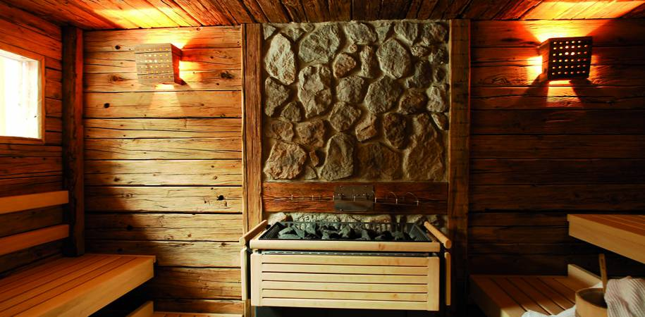 The traditional sauna