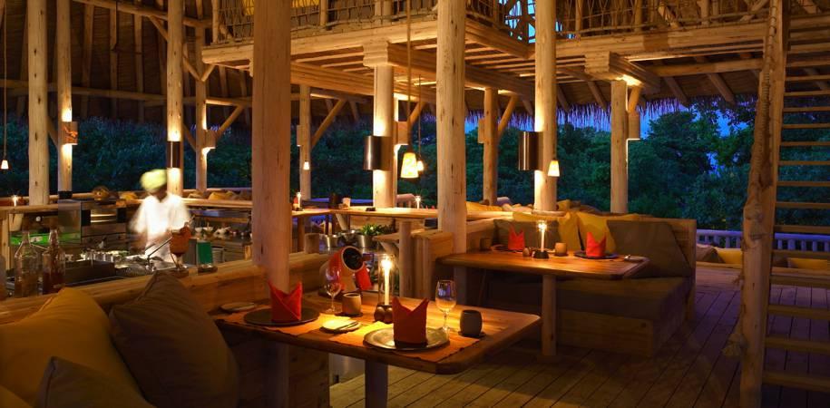 The Organic Garden restaurant