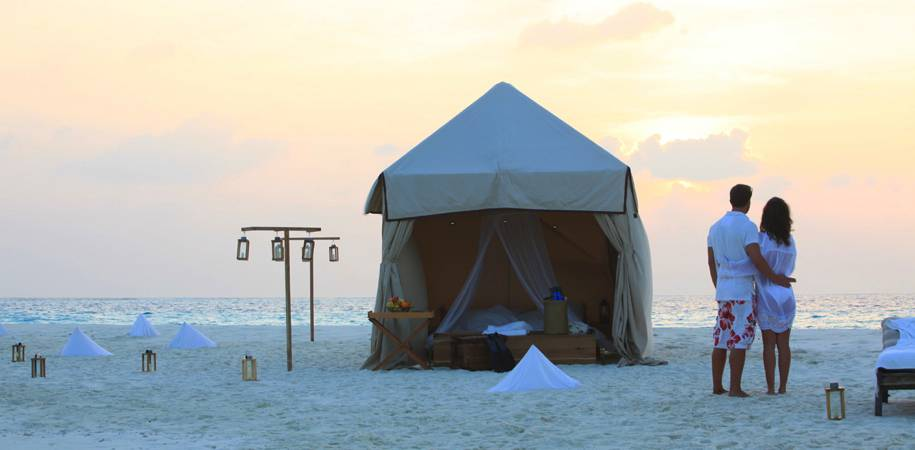 Savour the overnight sand bank experience