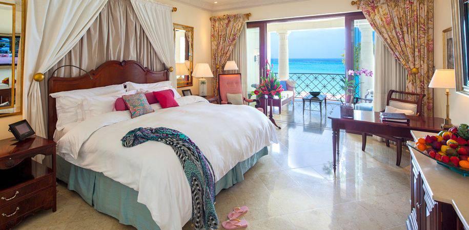 A Luxury Ocean room