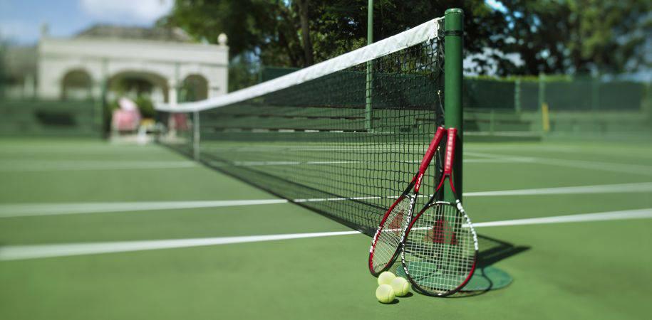 Superb tennis facilities