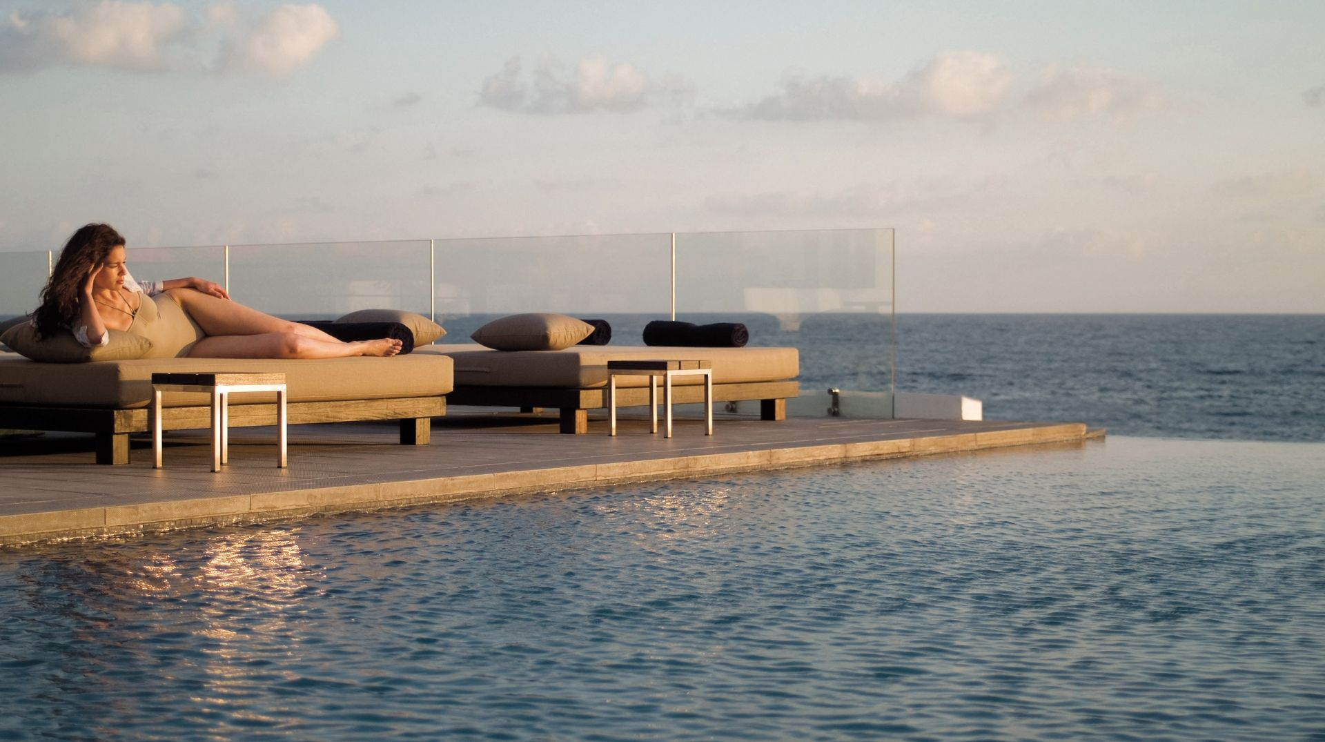 The SPA Infinity Pool