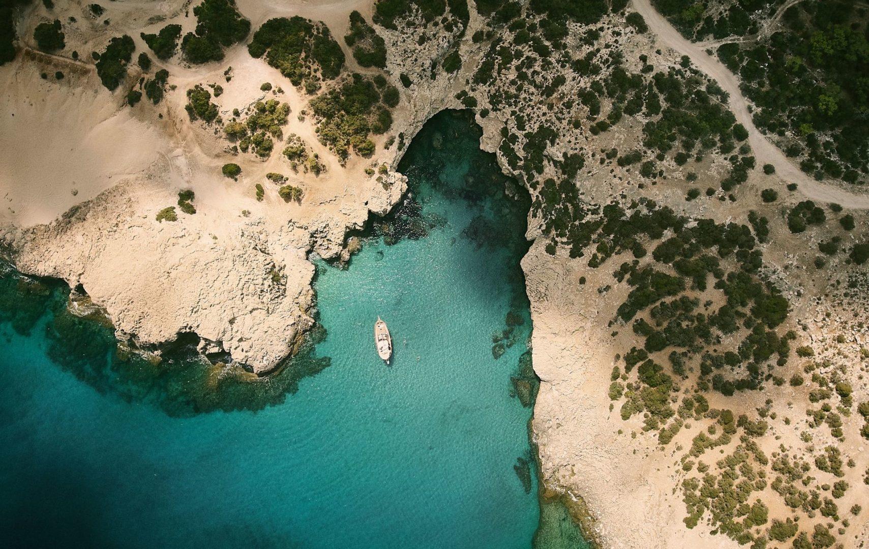 Explore the coast on the Akamas