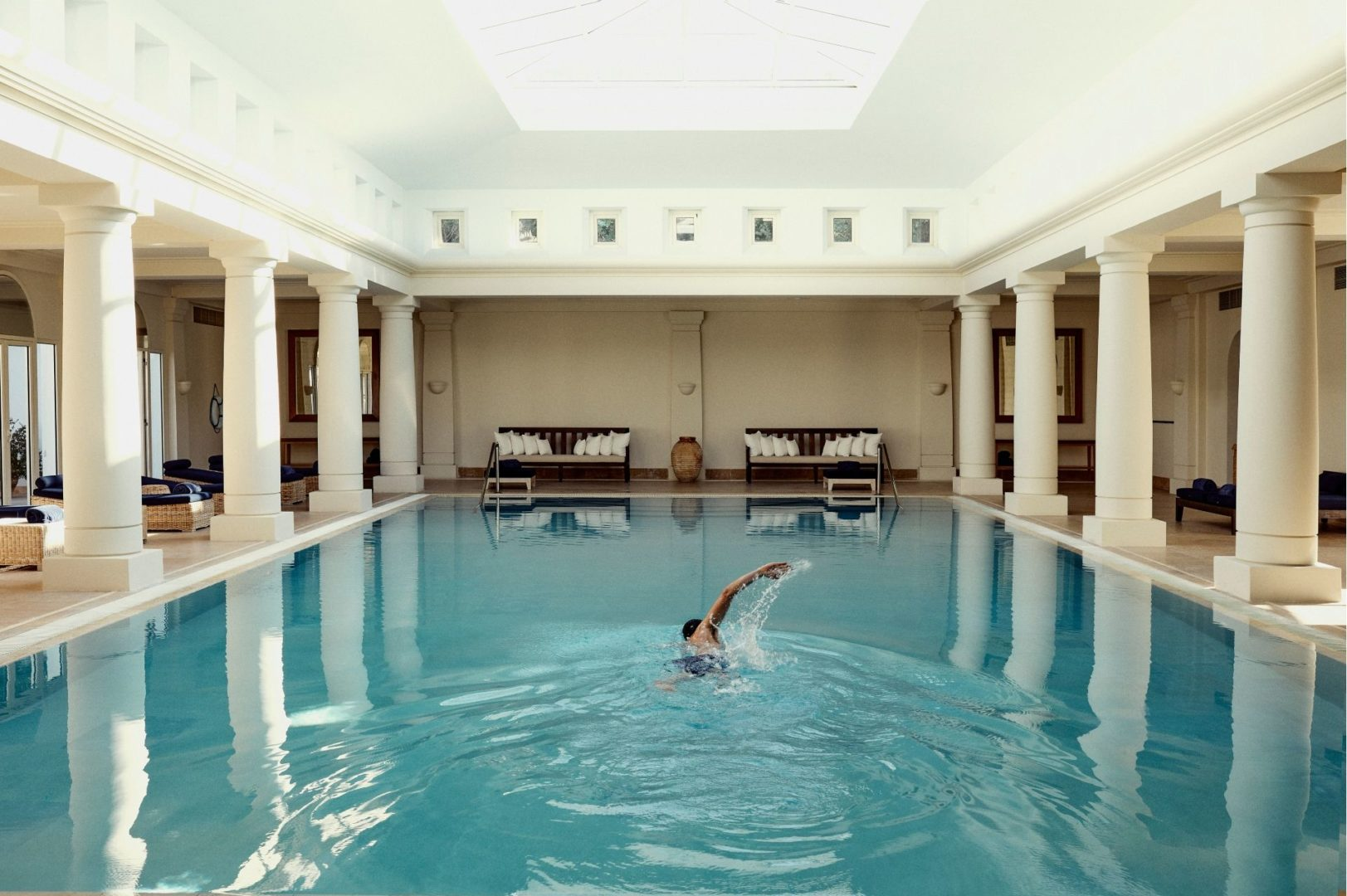 The Spa indoor pool
