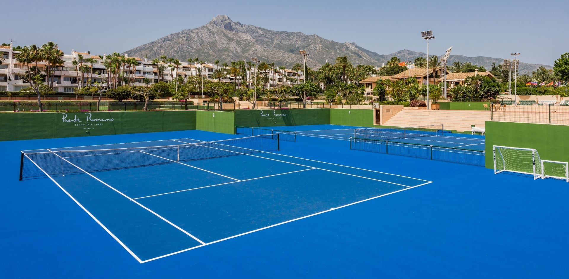 Incredible tennis facilities