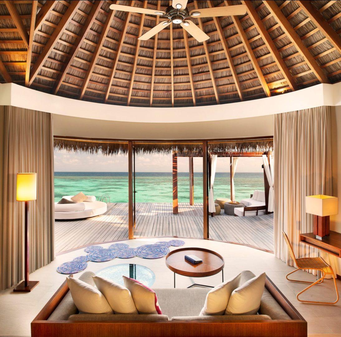 Ocean Oasis Retreat living Area
