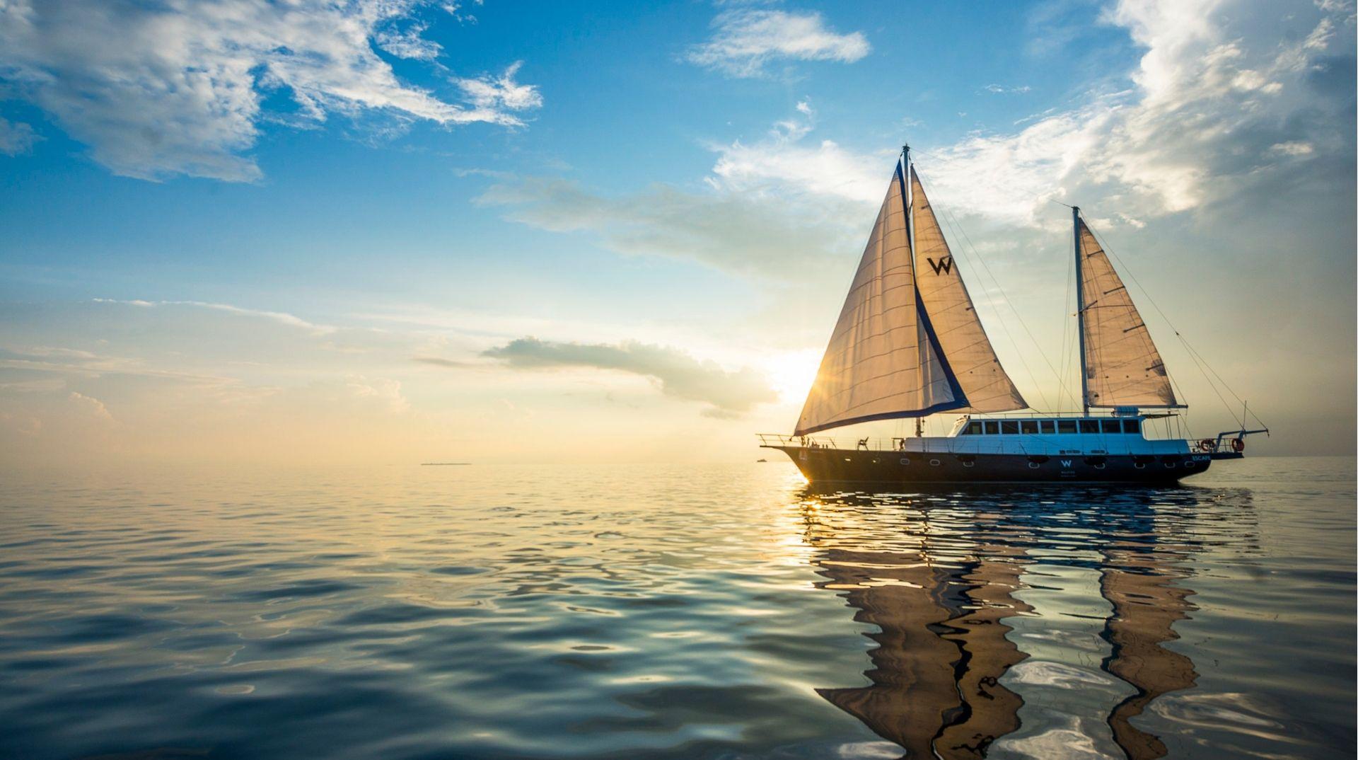 Sunset cruise on ESCAPE