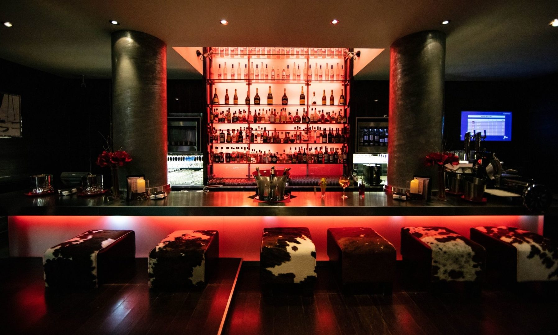 The classy Lounge Bar