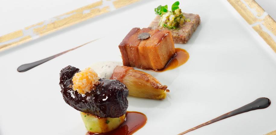 Michelin star cuisine