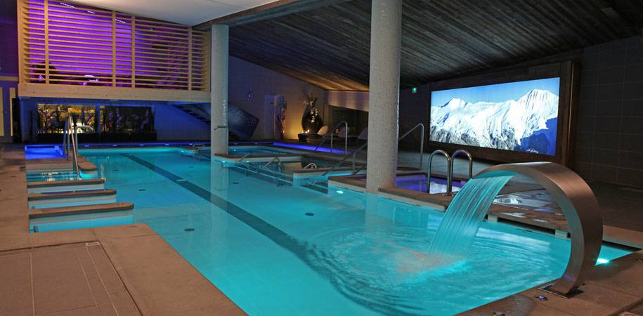 Multi Sensory heated pool
