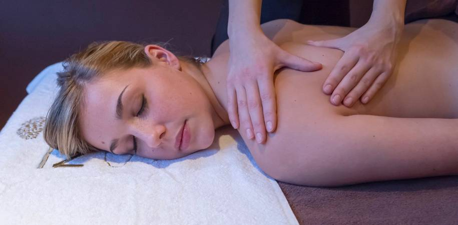 A Nuxe Spa treatment