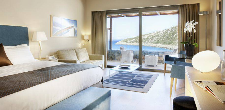A Deluxe room with sea view