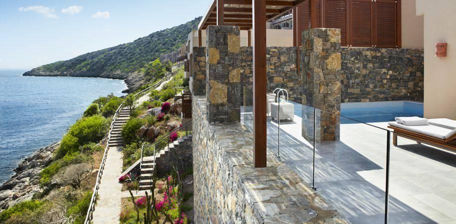 A Villa terrace