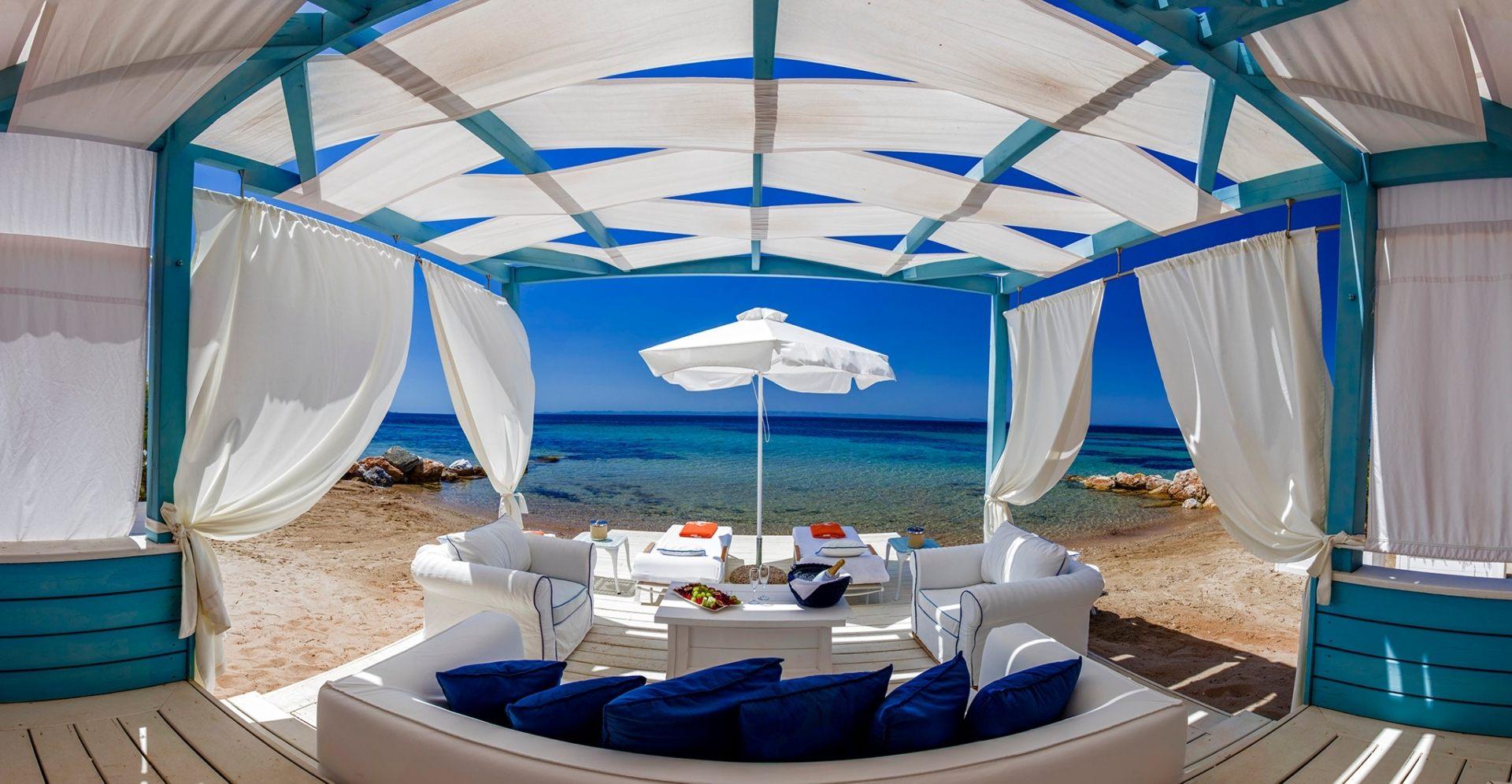 A Beach Cabana
