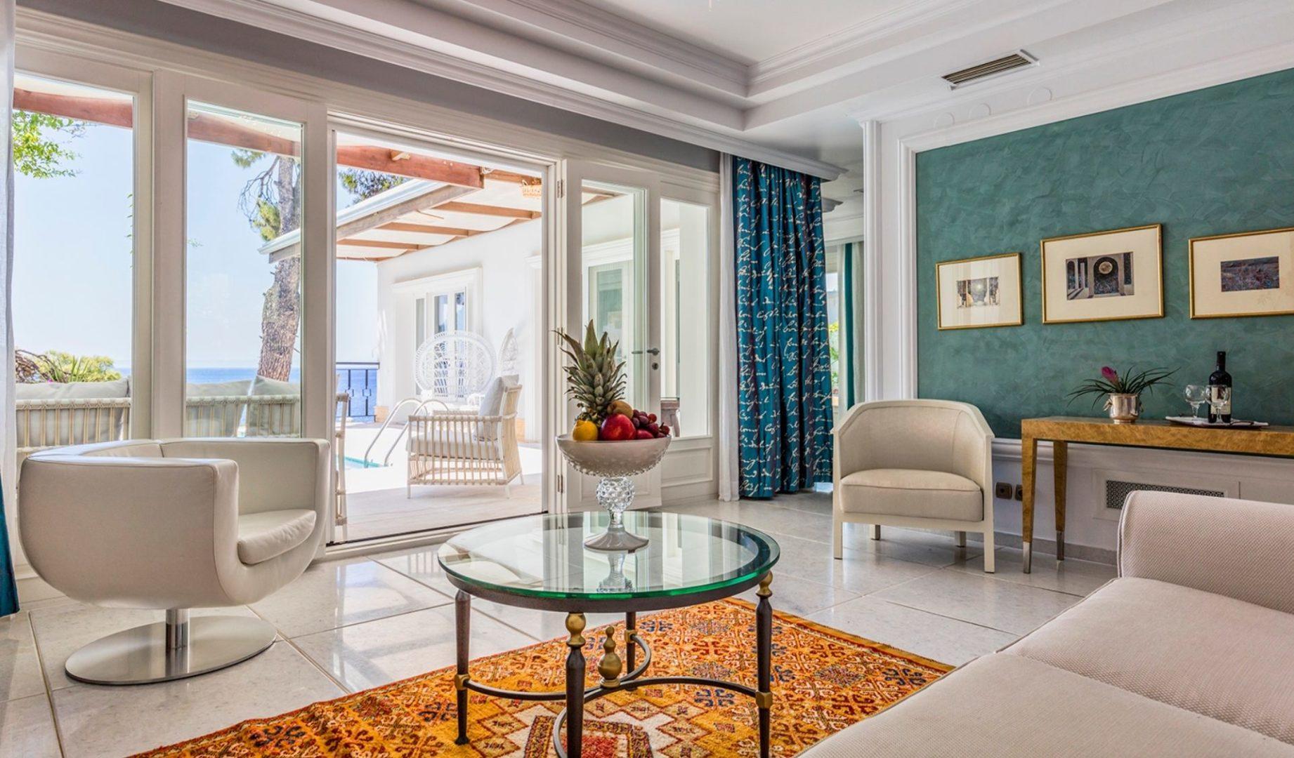 Danai Villa lounge