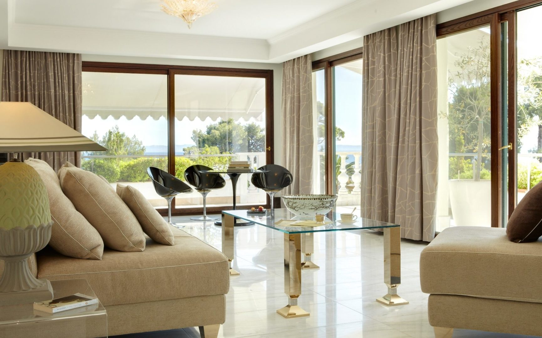 Mediterranean Two Bedroom Suite with a sea view