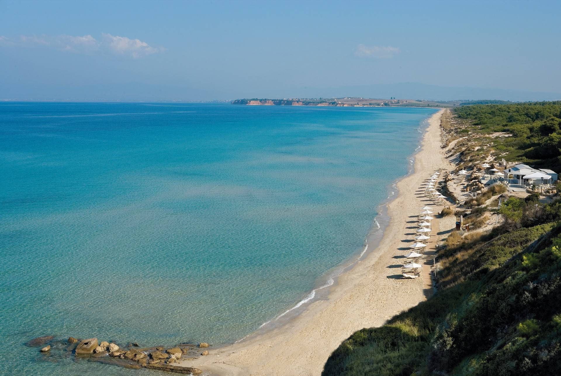 Long pristine sandy beaches