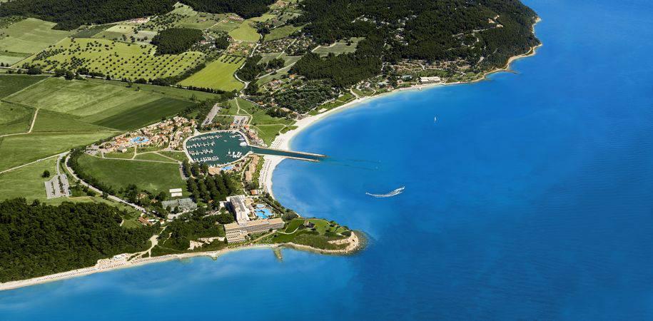 Sani resort's enviable location
