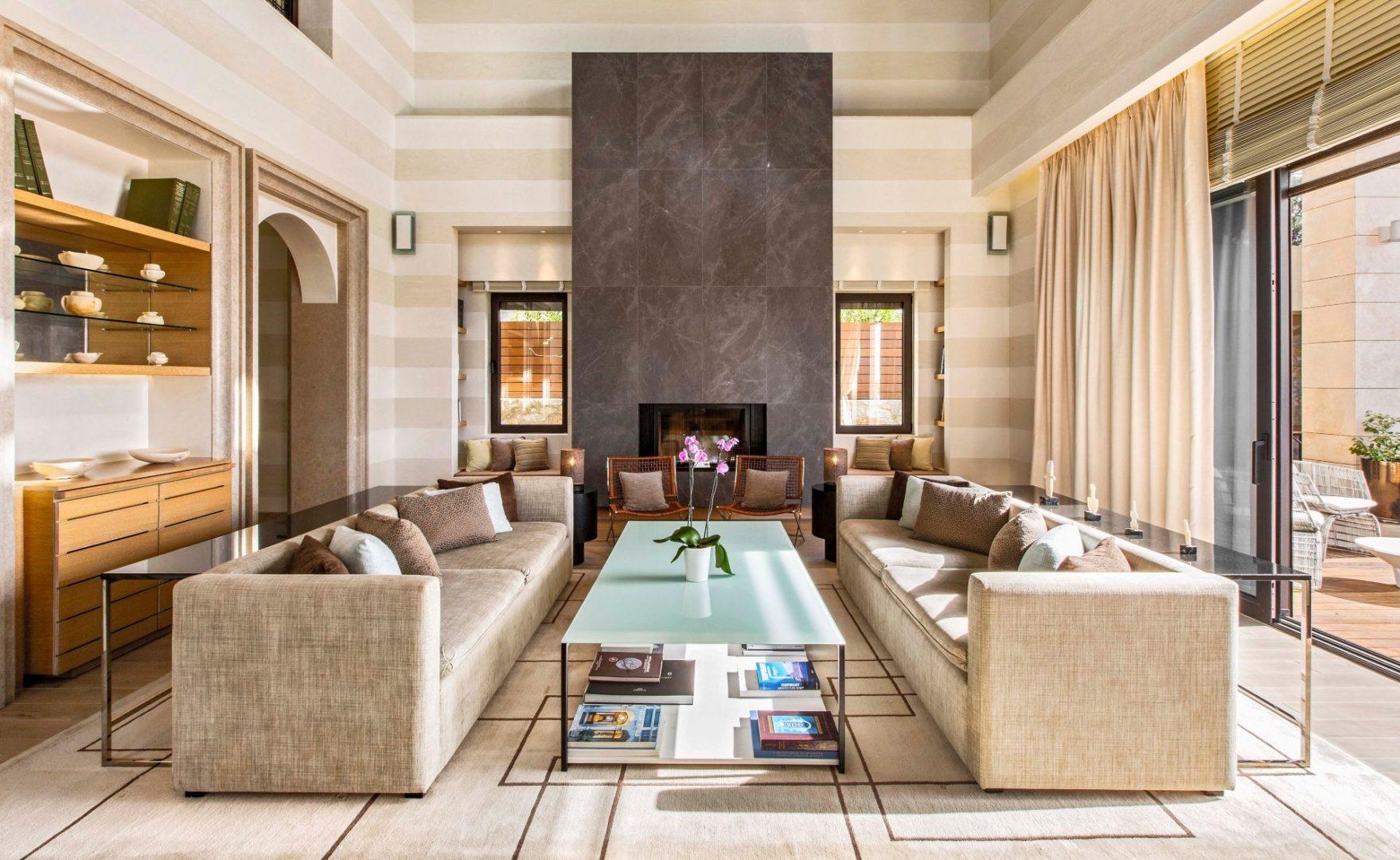 Koroni villa Lounge
