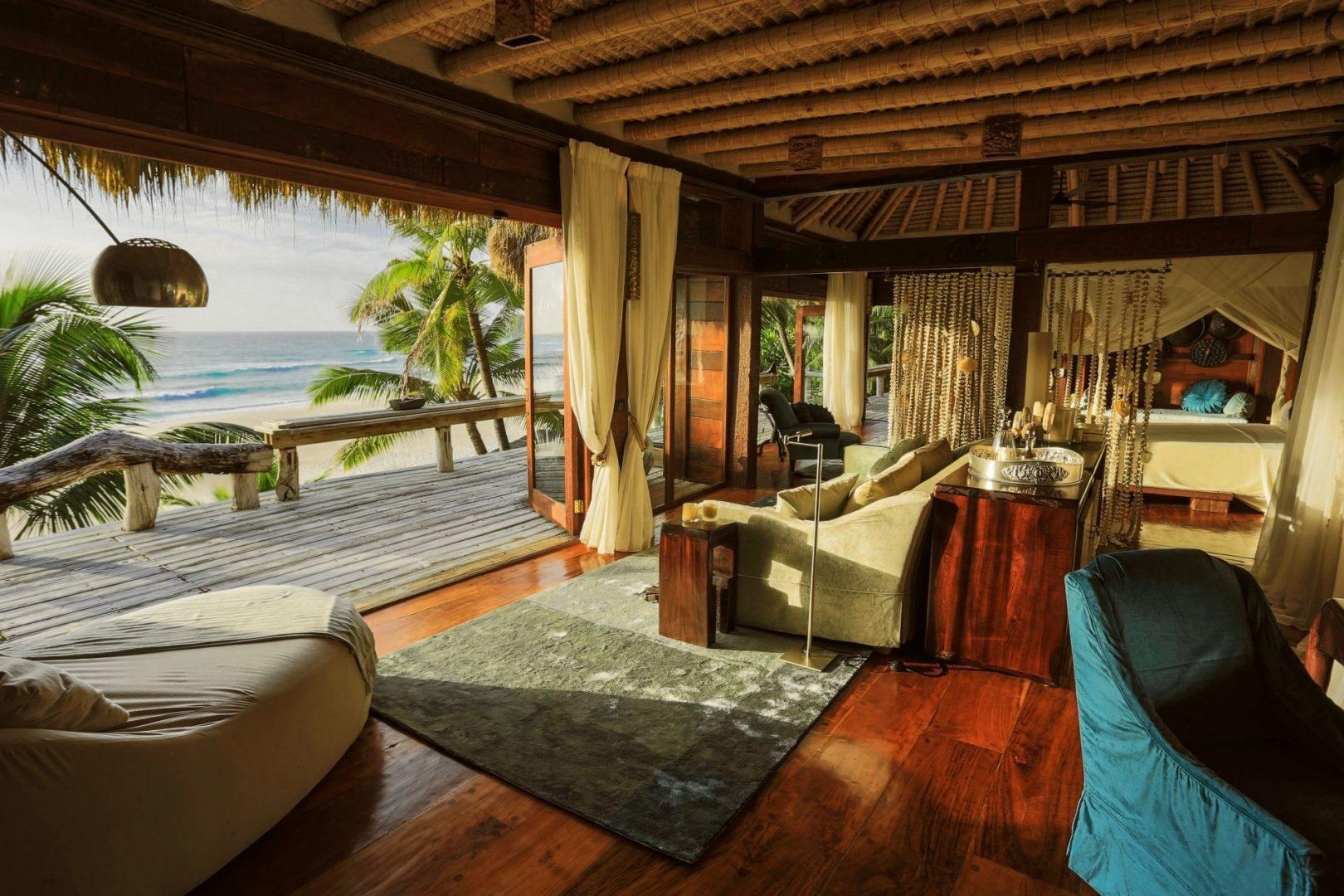 A private lounge