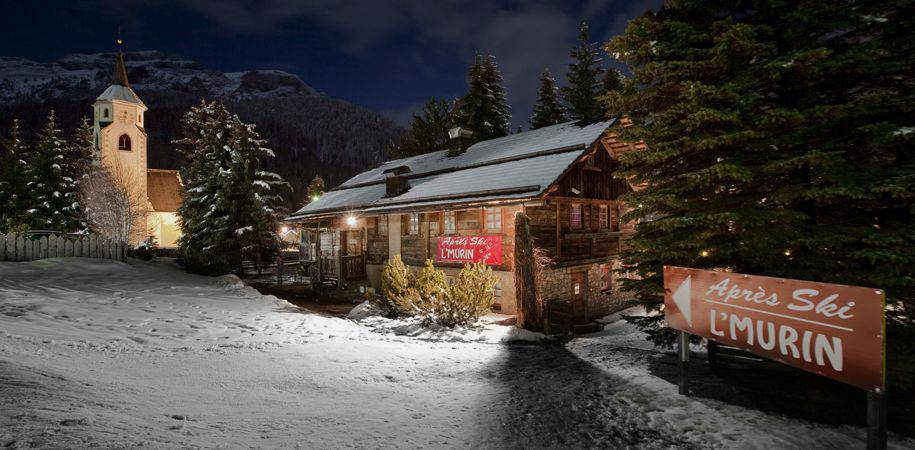 The hotel's own apres-ski venue