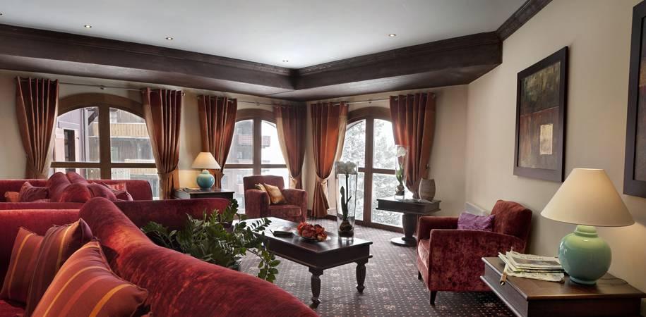 Residence Le Manoir communal lounge