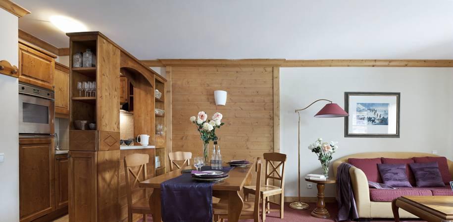 A Prince des Cimes apartment living Area