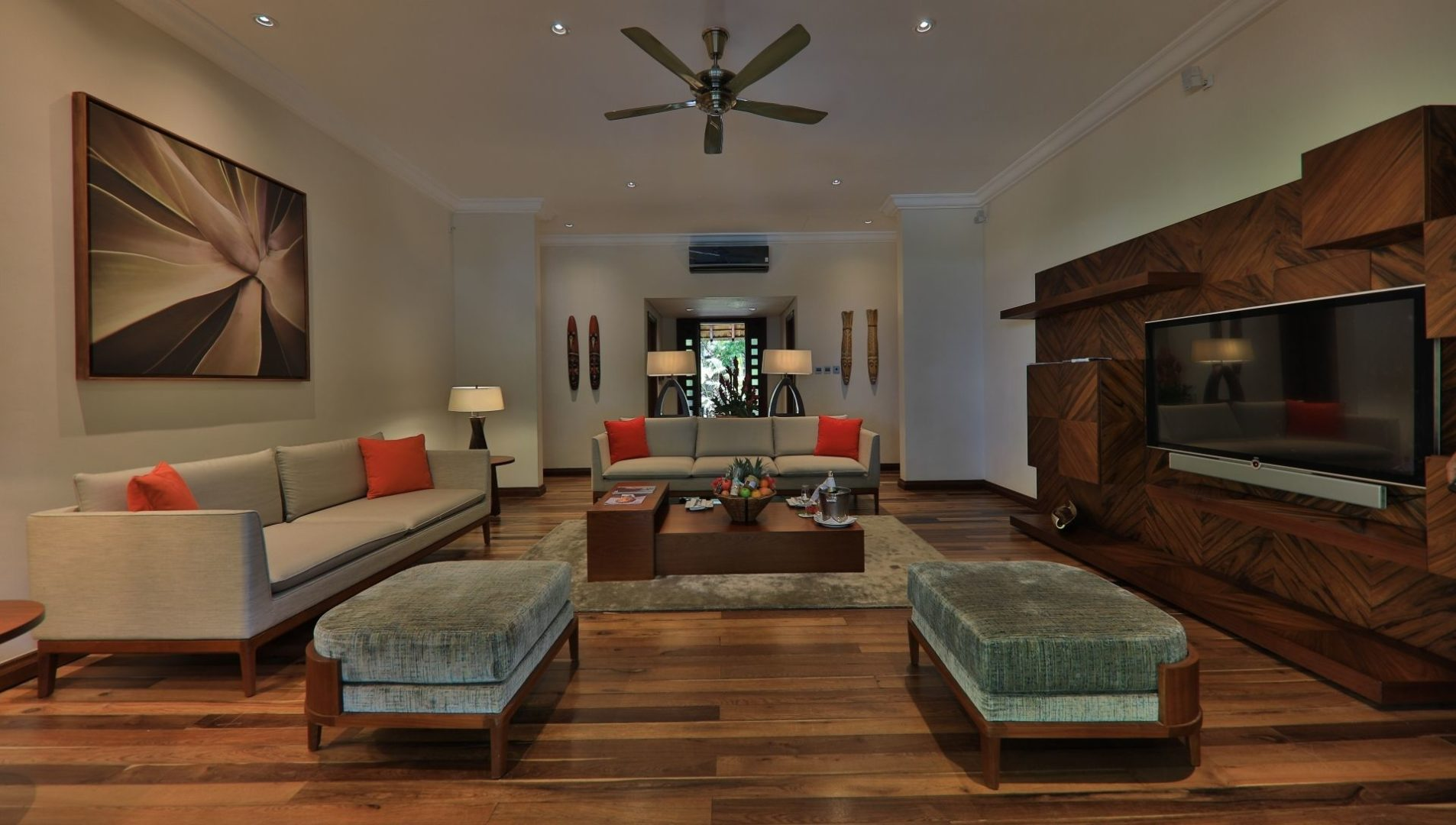 Presidential Suite Pool Villa – Living area