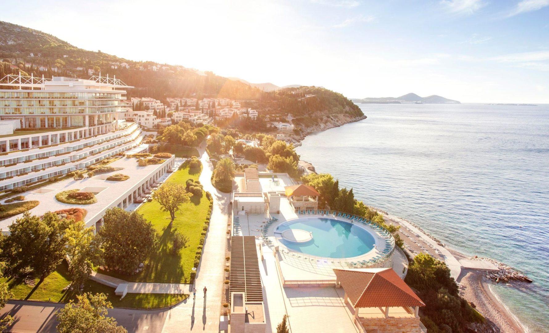Sun Gardens Dubrovnik's stunning hillside position