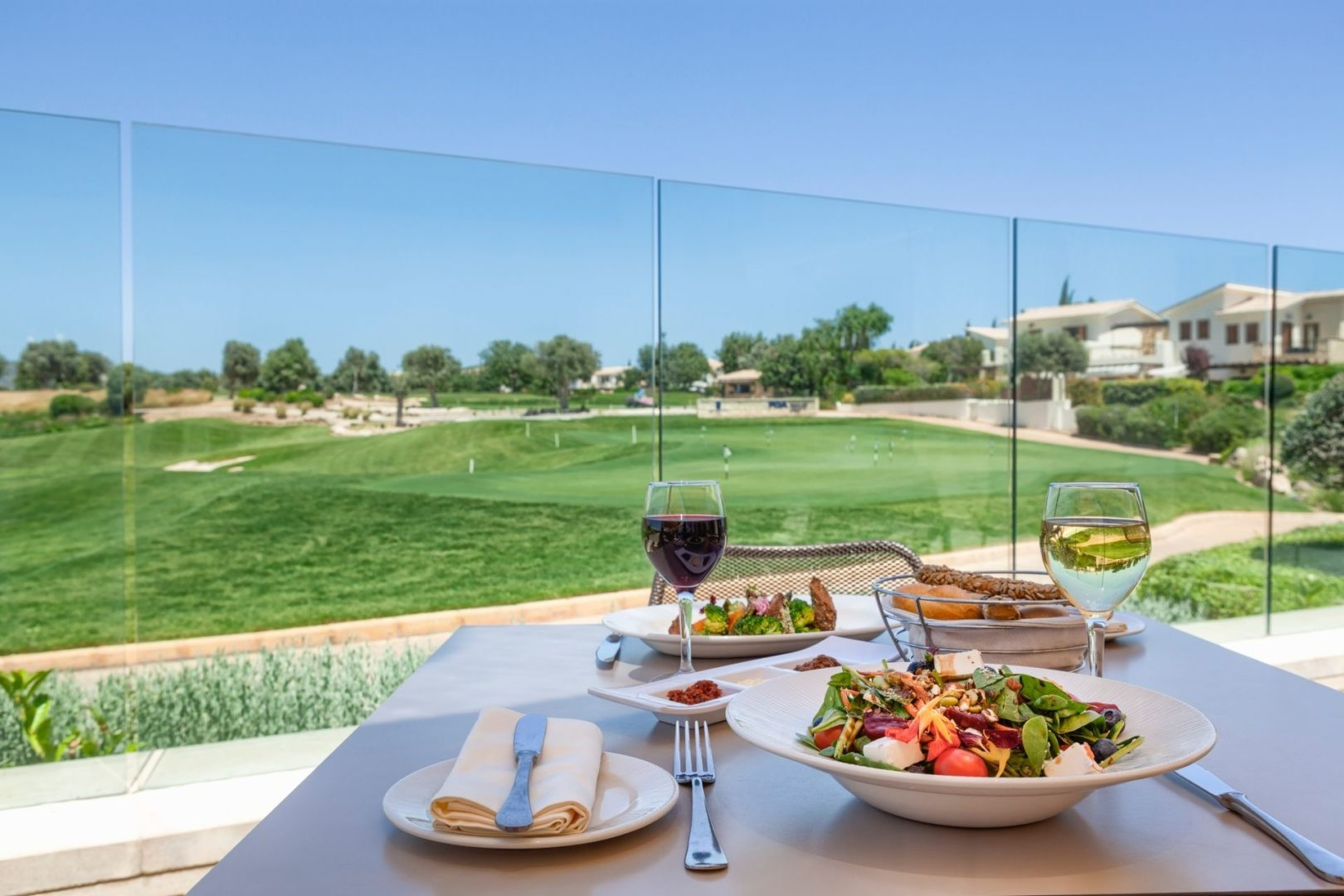 Lunch served at Golf Clubhouse