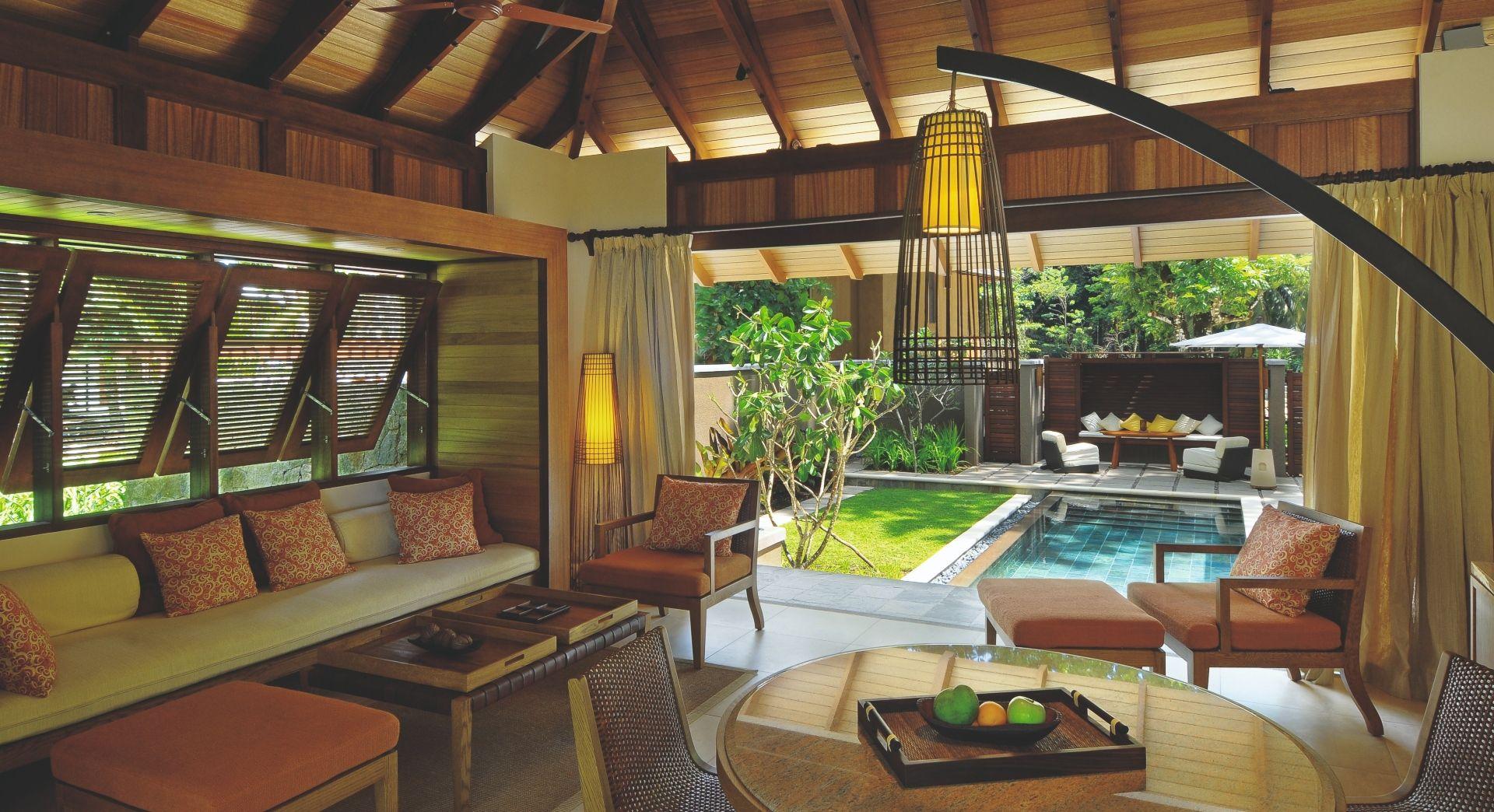 A Beach Villa interior