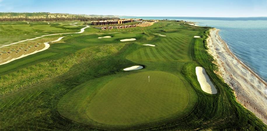 Spectacular golf courses