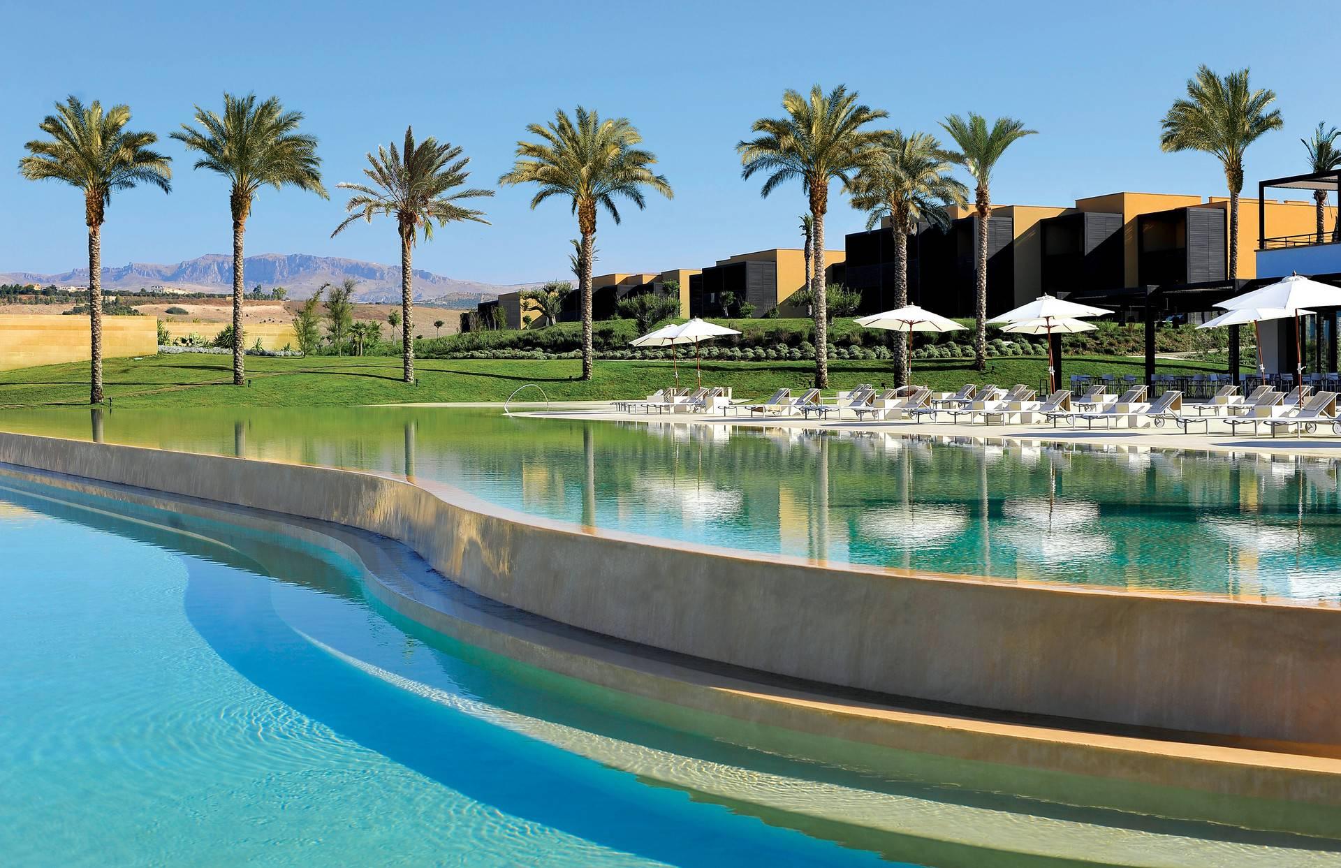 The resorts main pool