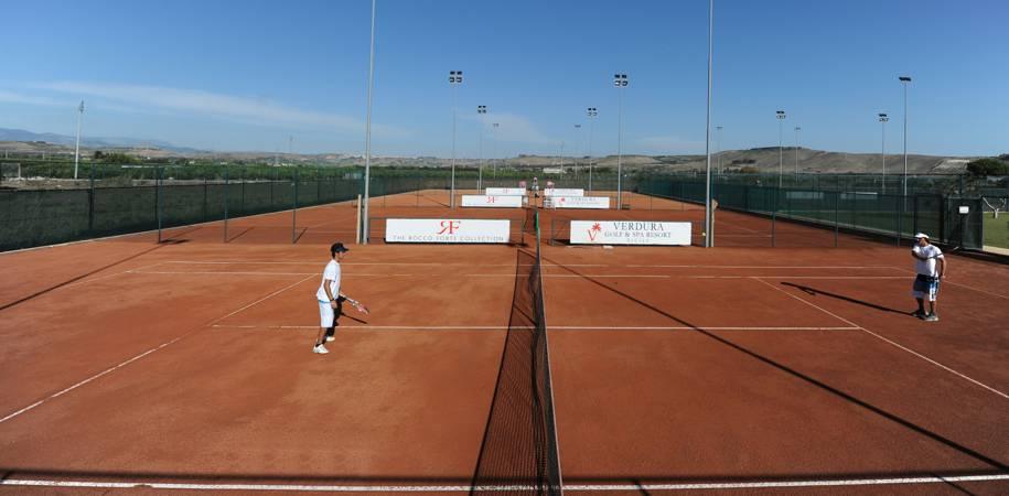 Excellent tennis facilities