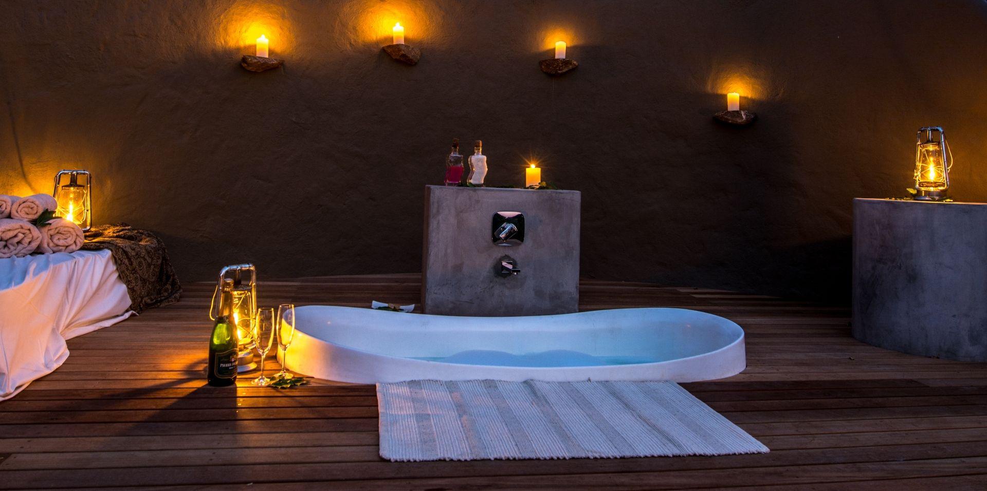 Bush bath setting