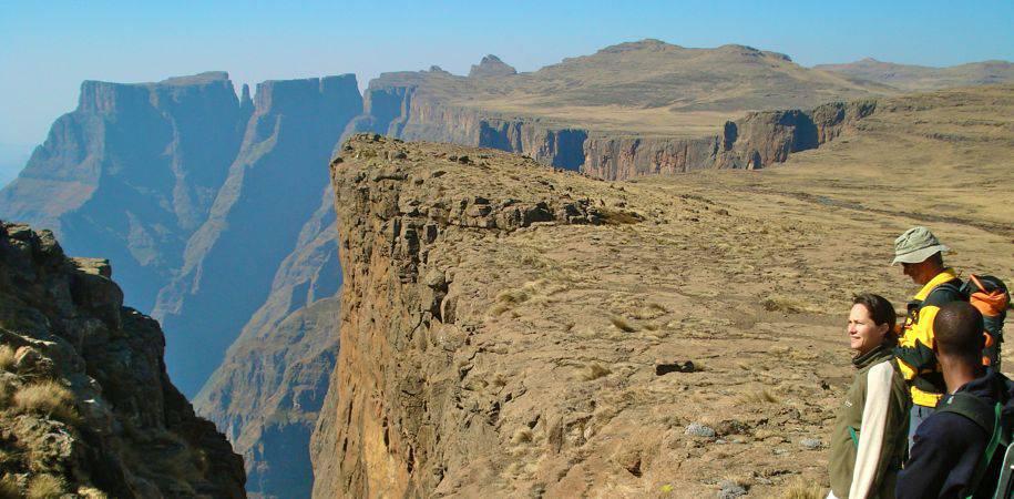 Trekking in the Drakensberg