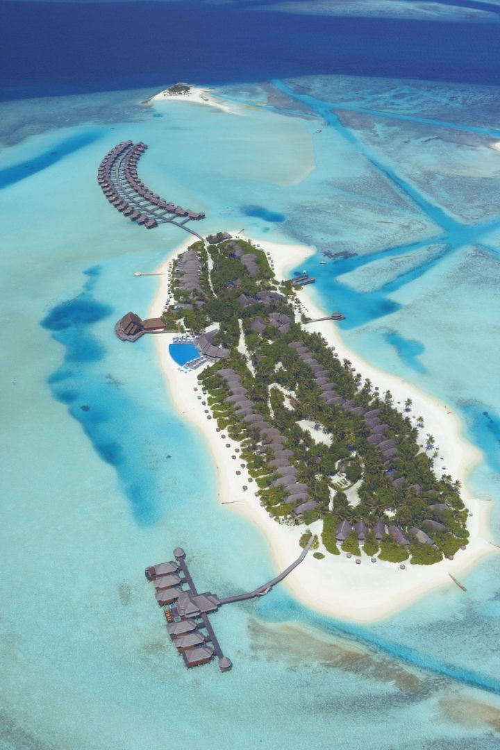 Anantara Dhigu Resort Spa Aerial