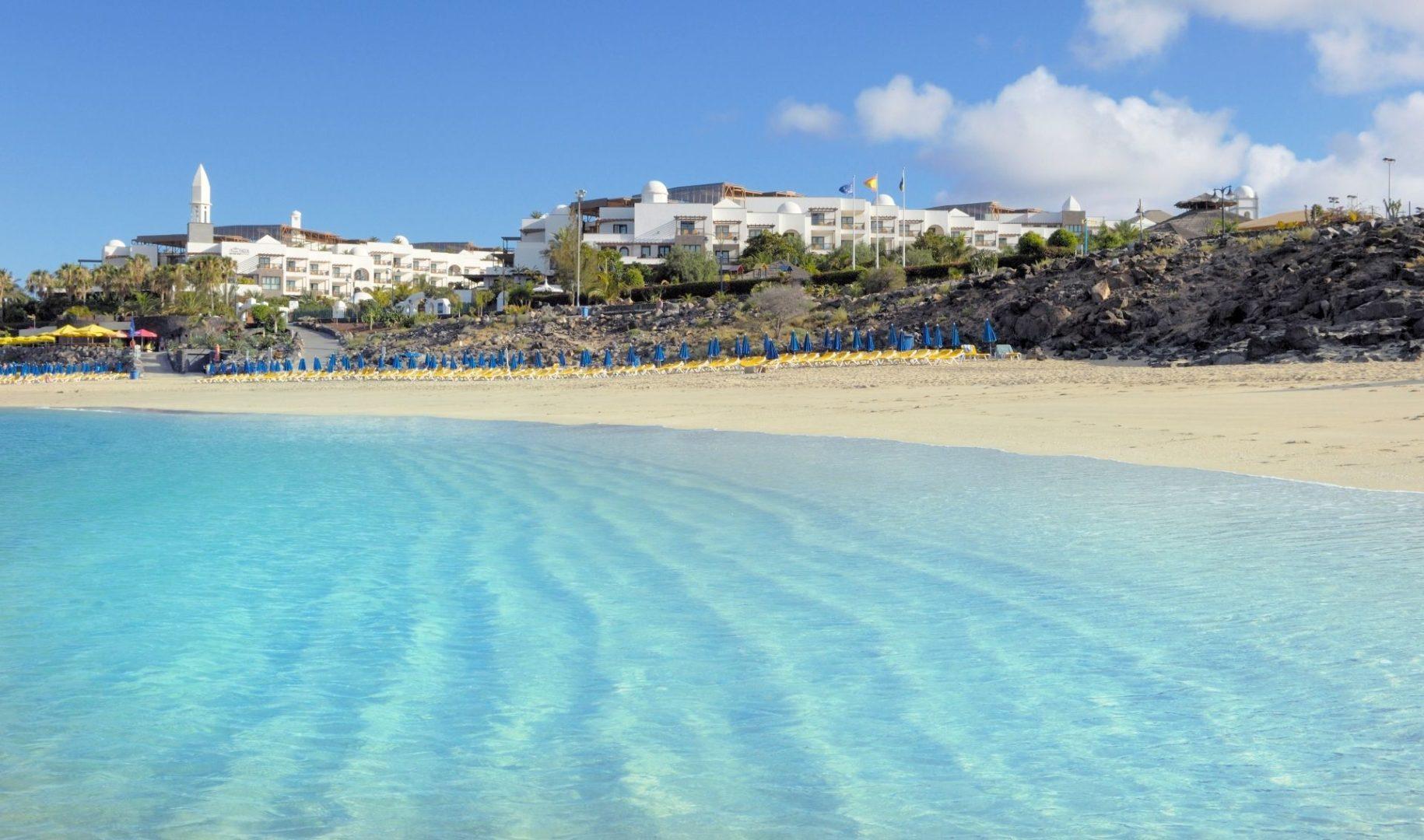 The white sand Playa Dorada
