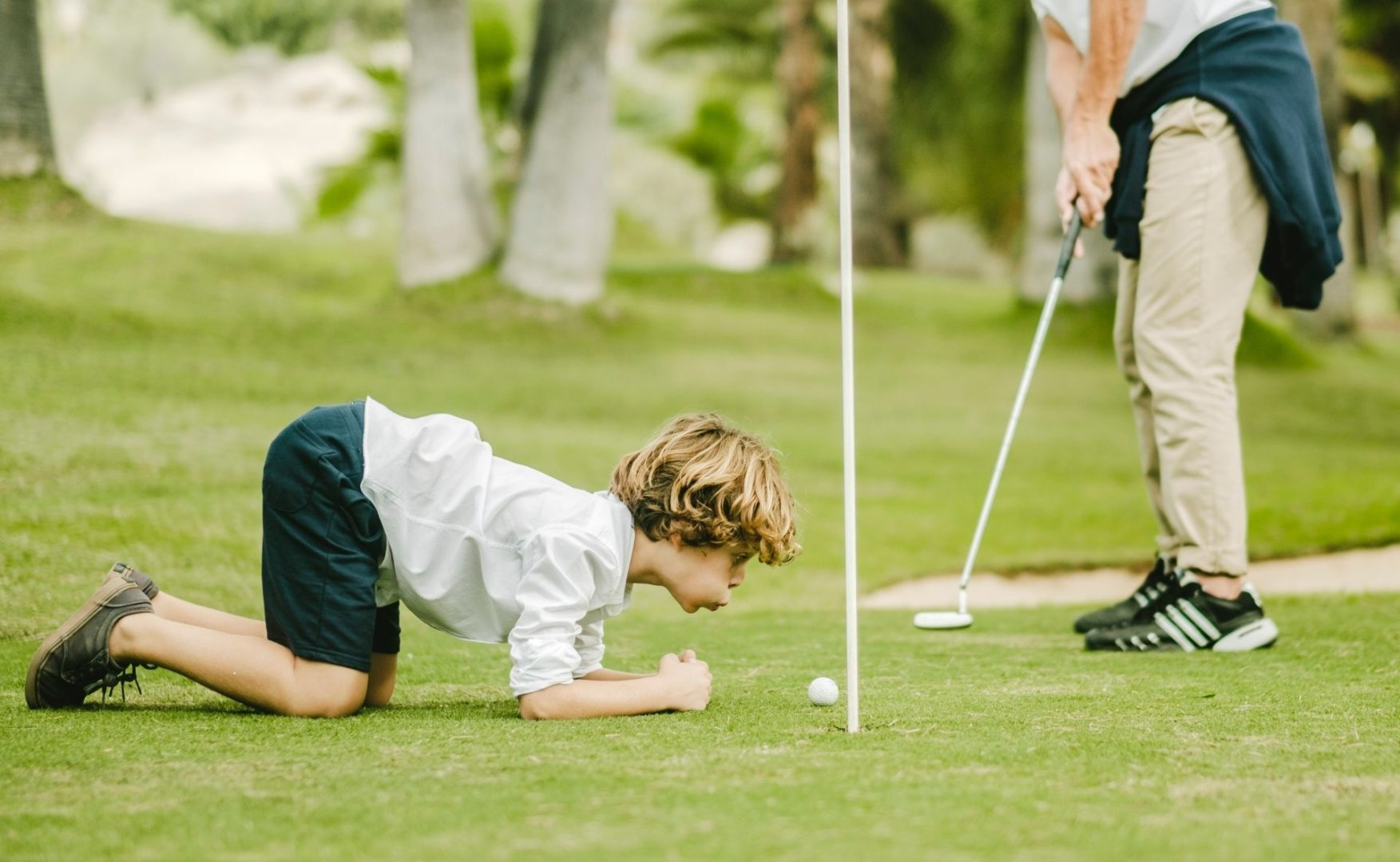 Kids love the Pitch & Putt