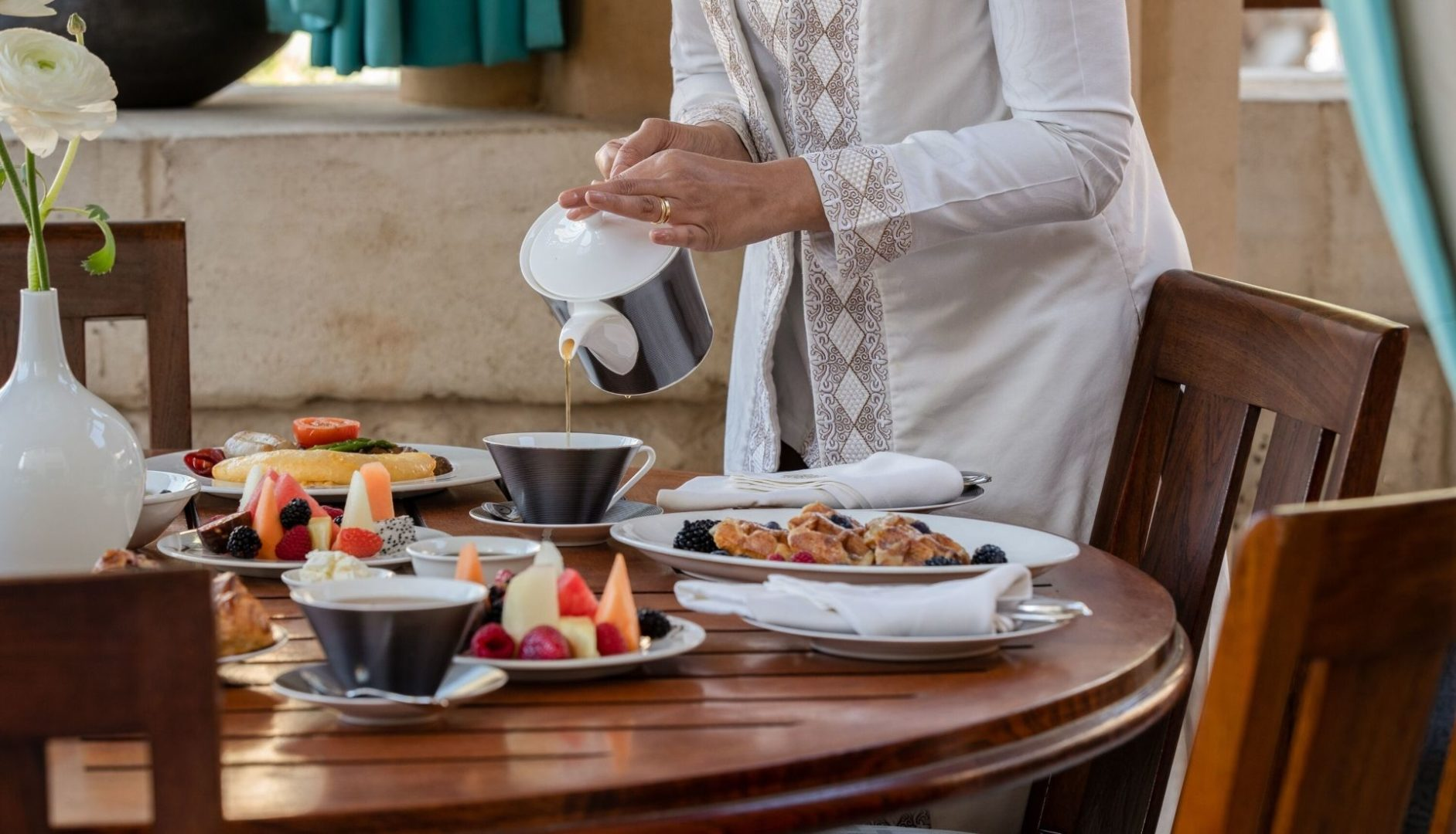 Royal Malakiya Villa – Breakfast